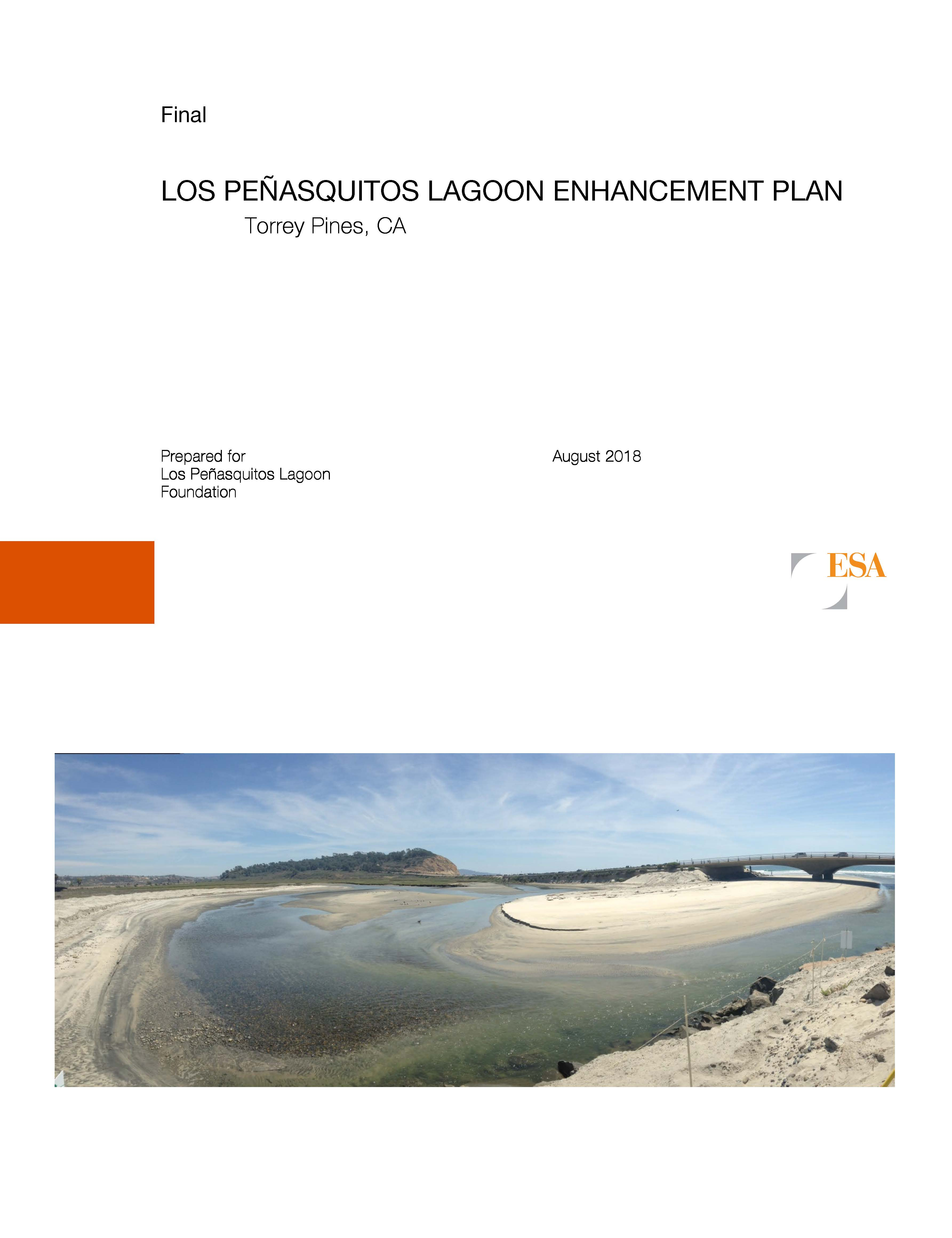 Pages from ESA FINAL Los Penasquitos Lagoon Enhancement Plan
