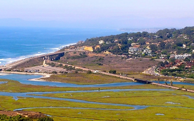 Views from the Torrey Pines State Natural Reserve